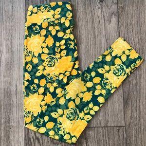 One Size (OS) LuLaRoe Floral Leggings
